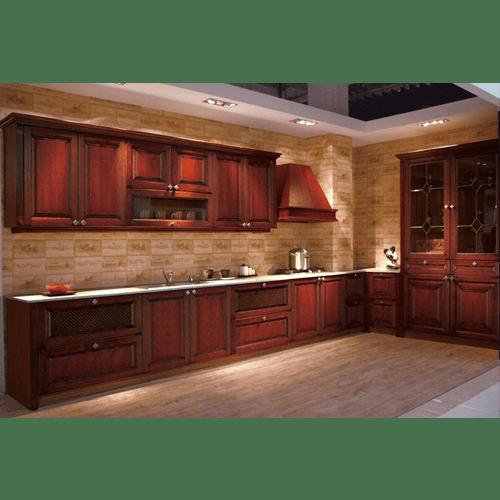 Buy 10\' X 10\' Cherry Wood Kitchen Cabinets