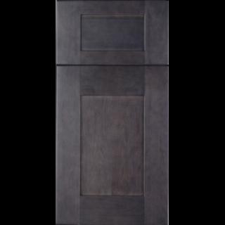 10'X10' Dark Stain Gray Shaker Kitchen Cabinets - Home ...