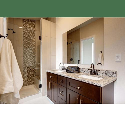 JAVA SHAKER Custom Bathroom Cabinets