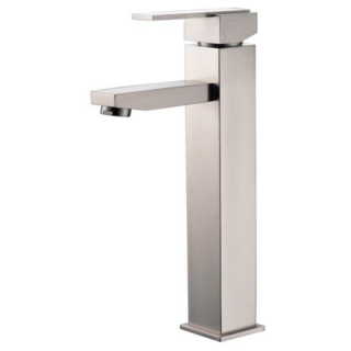 Modern Square Tall Lavatory Faucet