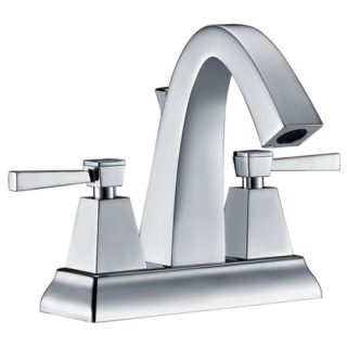 Modern Two-handle lavatory faucet 4″ Spreed