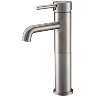 Single Handle round Tall Lavatory Faucet