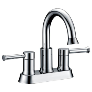 Two Handle Lavatory Faucet 4″ Spreed