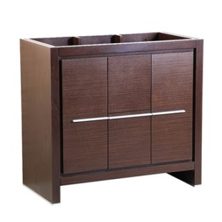 Fresca Allier 36″ Wenge Brown Modern Bathroom Cabinet