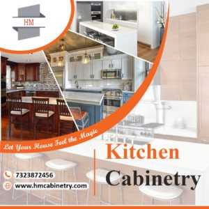 Glossy kitchen cabinetry