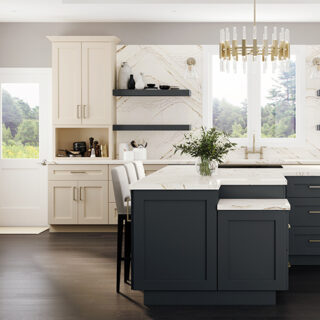 Ideal Cabinetry Napa Blended Cream